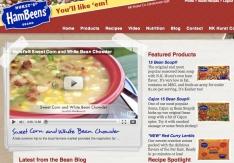 Hurst Beans Homepage