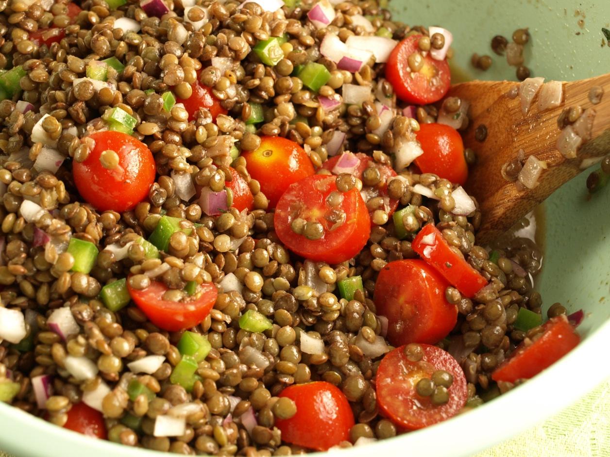 Mediterranean Lentil Salad | Hurst Bean Blog