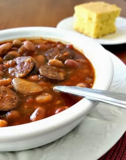 Smoky Slow Cooker 15 BEAN SOUP