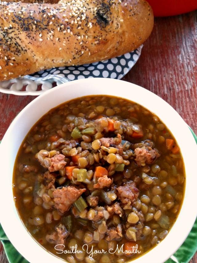 lentil soup 2 pn